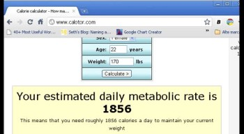 How many calories should I eat a day