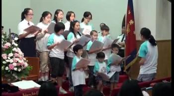 20111030兒童詩班獻詩
