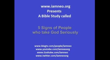 5 signs of people who take God seriously