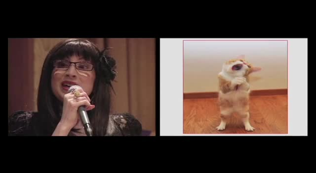 Crystal & Candice Sipe singing Cat Duet with Paula Dahl