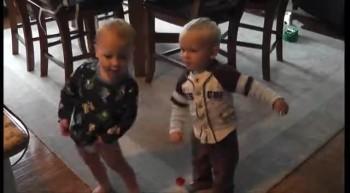Babies Dance to Lion of Judah