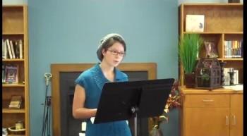 Amy's Tribute Speech
