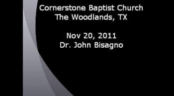 CBC Nov 20, 2011 Dr. John Bisagno