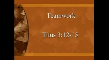 Teamwork - 11/13/2011