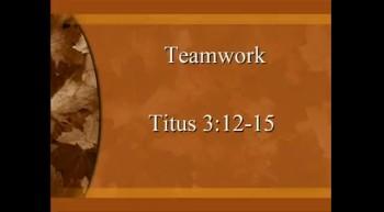 Teamwork - 11/13/2011