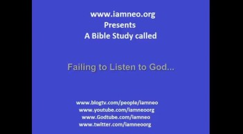 Failing to listen to God