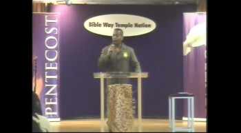 Clip 38 - Apostle T. Allen Stringer ''Think Like A Child'' (Clip 2)