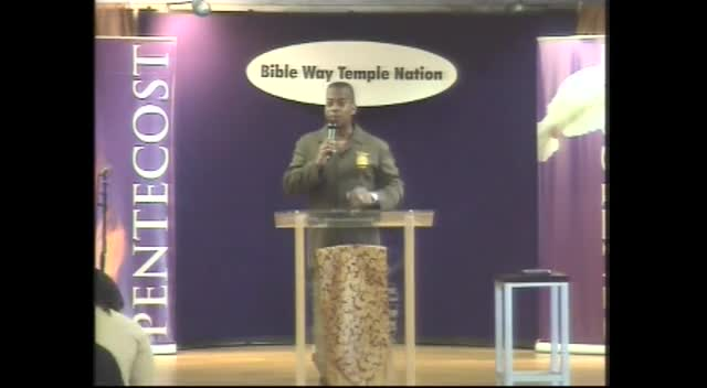 Clip 39 - Apostle T. Allen Stringer ''Think Like A Child'' (Clip 1)