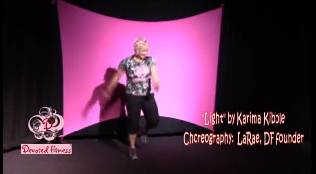 Devoted Fitness® dance to Light by Karima Kibble
