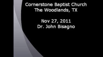 CBC Nov 27, 2011 Dr. John Bisagno