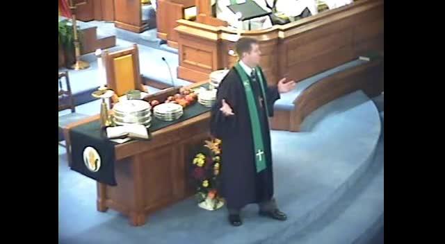 Sermon November 6th, 2011
