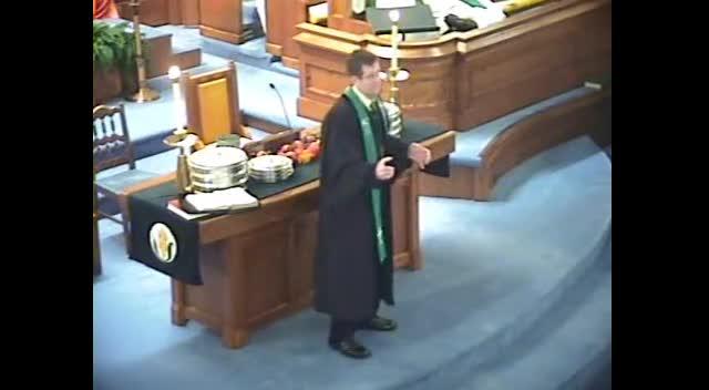 Sermon November 20th, 2011