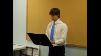 David's Persuasive Speech