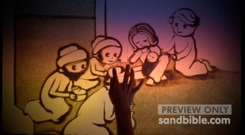 Sand Bible Christmas Part 5 - Matthew 2 - Wise Men, Magi Visit
