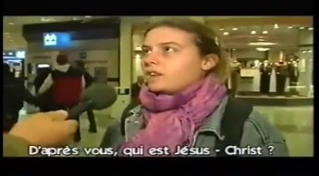 D'après vous, qui est Jésus-Christ ?