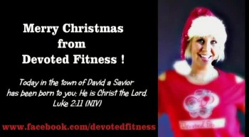 Jingle Bells! Devoted Fitness® style...
