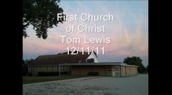 Tom Lewis 12/11/11