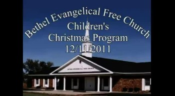 BEFC Children's Christmas Program - 12/11/2011