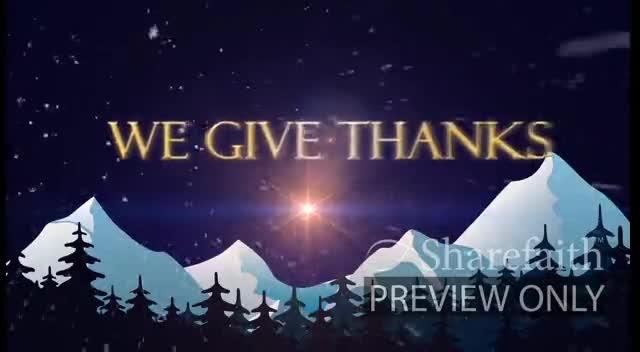 We Celebrate Christmas Video