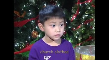 Cute Kids Tell The Christmas Story