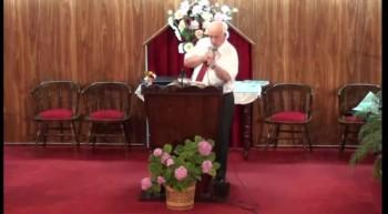Con la Fe puesta en Jesus. Pastor Walter Garcia. 4-12-2011