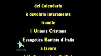 Calendario Biblico 2012