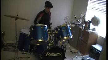 Get you Back off the wall by Family Force 5 Drum cover