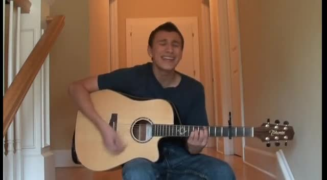 Tanner Azzinnaro Singing His Song,