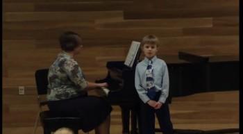 1st voice recital