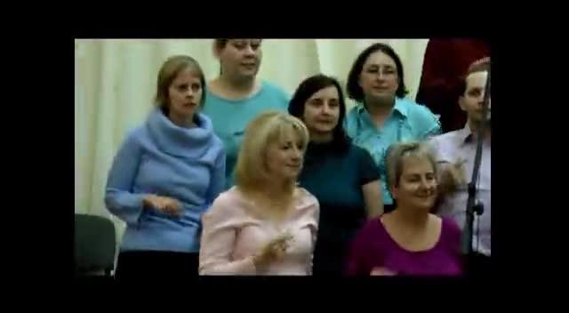 Golgota Gospel Kórus Válóháló - Oh, my lord