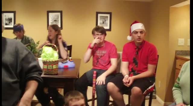 Youth Group Gift Exchange Final Round