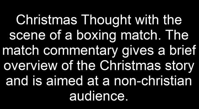 Christmas Thought