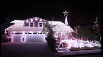 AMAZING Little Drummer Boy Christmas Light House