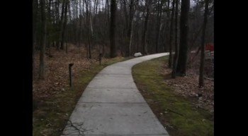 Jim Bures - Walking to the Bridge