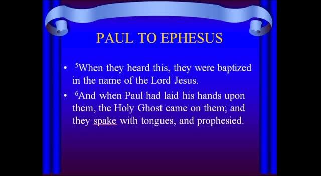 FOCUS 6: Ephesian's Salvation