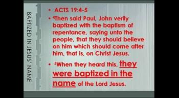 FOCUS 7:  Paul's Salvation