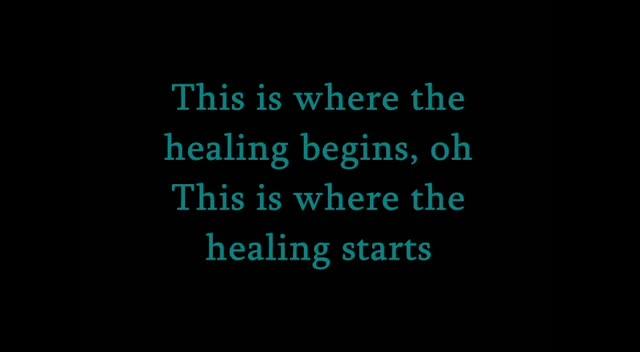 Healing Begins (Cover)