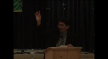 Pastor Preaching - January 01, 2012