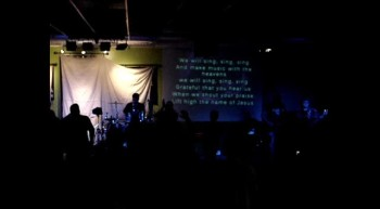 Sing,Sing,Sing - Chris Tomlin cover 12-30-11