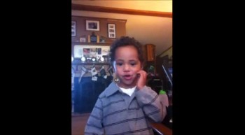 2 yr old singing Nothing but the blood of Jesus
