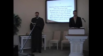 Sun. Worship Svc. Pt. 2 9/11/11; First OPC Perkasie