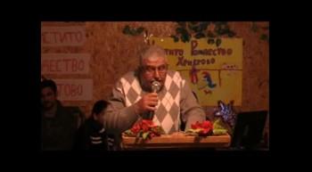 Пастор  Фахри  Тахиров  -  Аз дойдох като Светлина на света ...