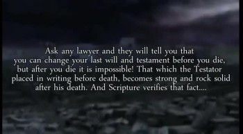 AFTER JESUS DIED THE COVENANT WAS CHANGED ?