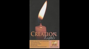 Creation Light 001 - Competing Worldviews - Bruce Malone