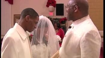 nina and Daryl's wedding clips
