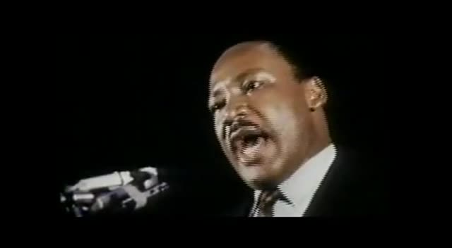 Dr. Martin Luther King's last speech I've Been to the Mountain Top