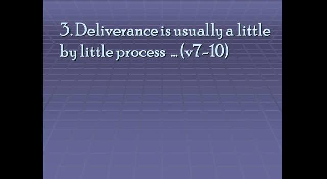 01-15-2012, Al Yoder, Deliverance, Acts 12:1-19