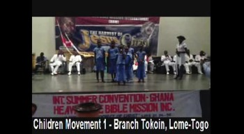 HBM - Children Movement 1 - Branch Tokoin, Lome-Togo