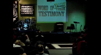 Testimony Night 1-13-12