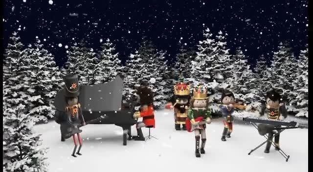 David Crowder*Band - Carol of the Bells / Christmas Eve (Sarajevo 12/14) [Official Music Video]